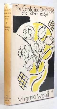 The Captain's Death Bed, and other Essays. Virginia WOOLF.