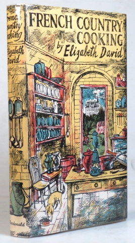 French Country Cooking. Decorated by John Minton. Elizabeth DAVID.
