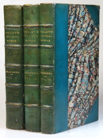 The Poetical Works of... from the original editions. Edited, prefaced, and annotated by Richard Herne Shepherd. SHELLEY, sshe.