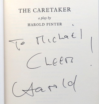 The Caretaker. A Play in Three Acts. Harold PINTER.