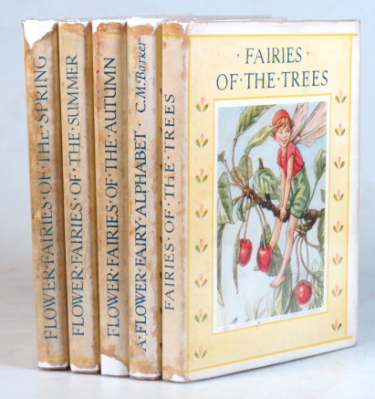 Flower Fairies of the Spring. ...of the Summer. ...of the Autumn. A Flower Fairy Alphabet. Fairies of the Trees. Cicely Mary BARKER.
