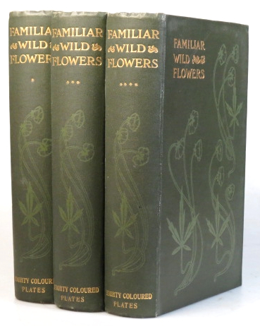 Familiar Wild Flowers. Figured and Described by... First, Second & Fifth-Eighth series. F. Edward HULME.