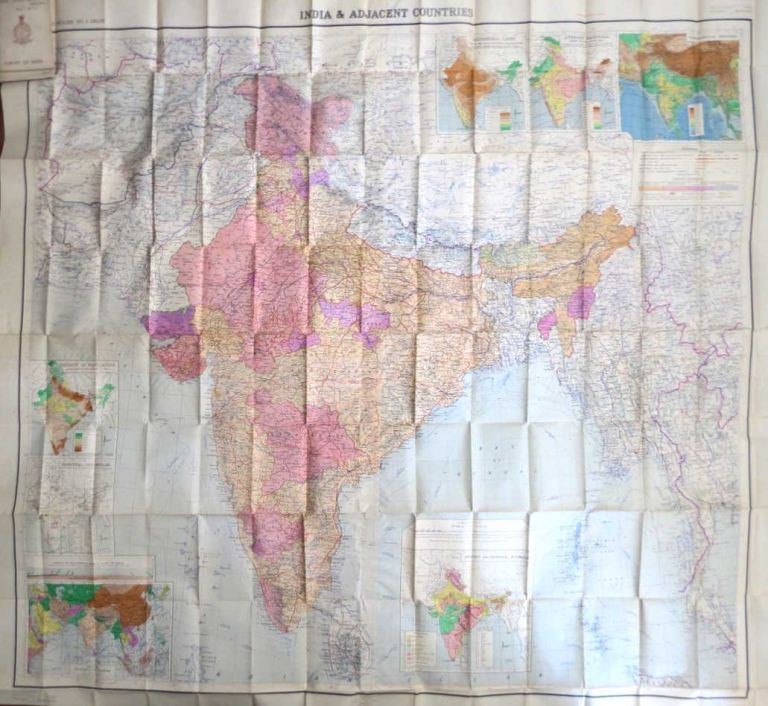 India and Adjacent Countries. SURVEY OF INDIA.