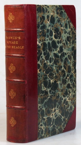 """Journal of Researches, into the Natural History and Geology of the Countries Visited during the Voyage of H.M.S. """"Beagle"""" round the world, under the Command of Captain Fitz Roy. Charles DARWIN."""