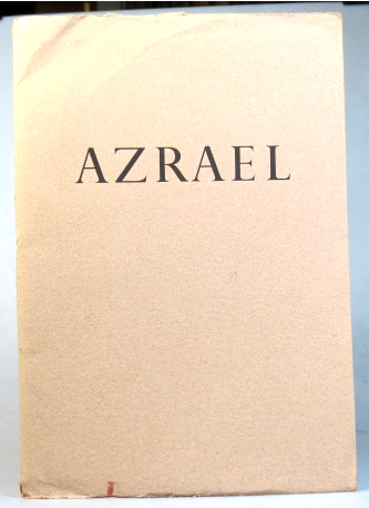Azrael & Other Poems. Sylvia Townsend WARNER.