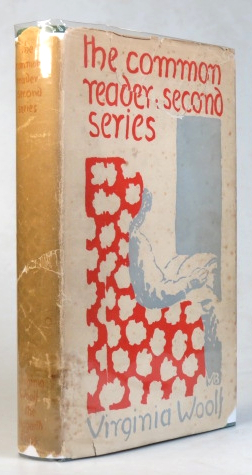 The Common Reader. Second Series. Virginia WOOLF.