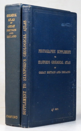 Stanford's Geological Atlas of Great Britain and Ireland. [with] Photographic Supplement to. Horace B. WOODWARD.