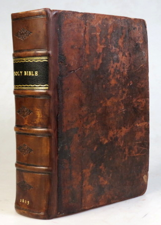 [The Bible, translated according to the Hebrew and Greeke, and conferred with the best translations in divers languages: with most profitable annotations upon all the hard places... bound with] HERREY, Robert F. Two right profitable and fruitfull concordances, or large and ample tables alphabeticall. BIBLE.