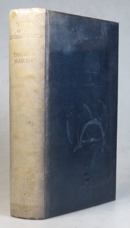 Tess of the D'Urbervilles. A Pure Woman. Faithfully Preserved by... With... wood engravings by Vivien Gribble. Thomas HARDY.