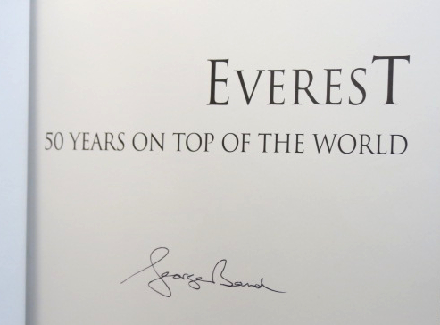 Everest. 50 Years on Top of the World. George BAND.