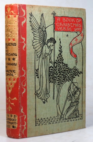 A Book of Christmas Verse. Selected by... With... Designs by Walter Crane. H. C. BEECHING.
