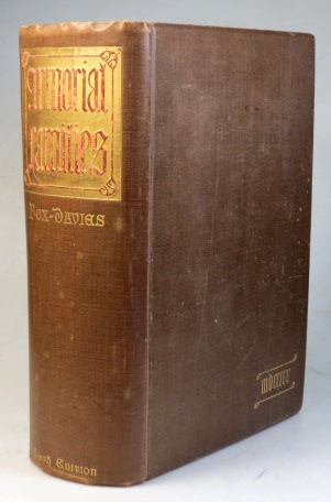 Armorial Families. A Directory of Gentlemen of Coat-Armour. Compiled and Edited by. Arthur Charles FOX-Davies.