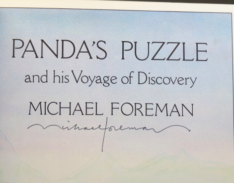 Panda's Puzzle, and his Voyage of Discovery. Michael FOREMAN.