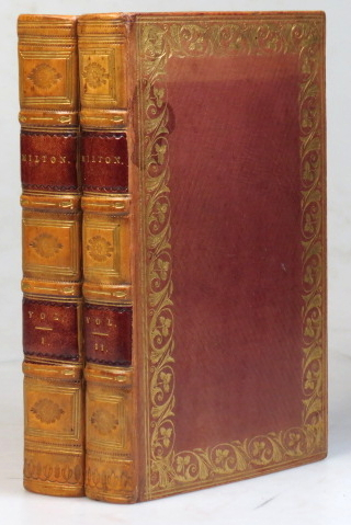 The Poetical Works of... from the Text of Dr. Newton, with the Life of the Author, and a Critique of Paradise Lost. John MILTON.