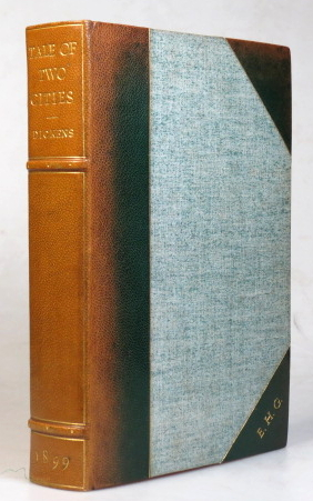 A Tale of Two Cities. With Introduction and Notes by Andrew Lang. Charles DICKENS.