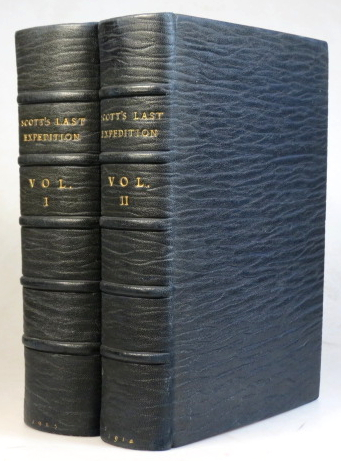 Scott's Last Expedition. Being the Journals of... [and] the Reports of the Journeys & the Scientific Work undertaken by Dr. E.A. Wilson... Arranged by Leonard Huxley. With a Preface by Sir Clements R. Markham. Captain R. F. SCOTT.