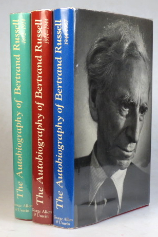 The Autobiography of... 1872-1914. 1914-1944. 1944-1967. Bertrand RUSSELL.