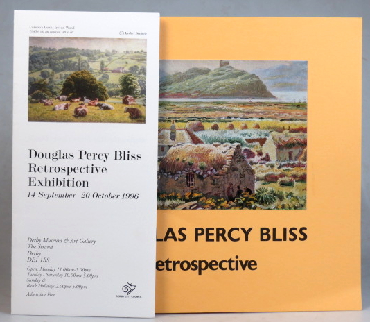 Paintings, Drawings and Wood Engravings. A Retrospective Exhibition. The Hatton Gallery, University of Newcastle upon Tyne, 7th November to 12th December 1981. Douglas Percy BLISS.