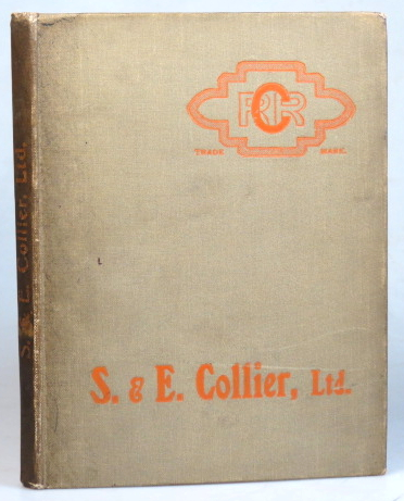 Price List of Goods Manufactured by S.& E. Collier, Ltd., Brick, Tile and Pottery Works, Grovelands and Waterloo, Reading. S.& E. COLLIER.