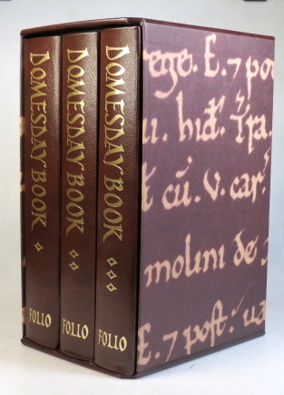 The Domesday Book. A Complete Translation. DOMESDAY BOOK.