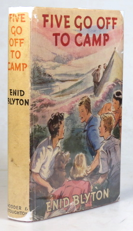 Five Go Off to Camp. Illustrations by Eileen Soper. Enid BLYTON.