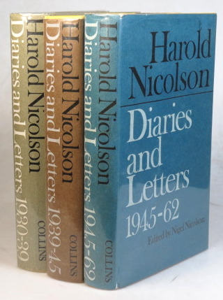 Diaries and Letters. 1930-39. 1939-45. 1945-62. Harold NICOLSON.