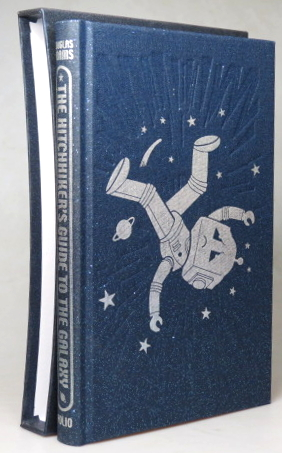 The Hitchhiker's Guide to the Galaxy. Introduced by Terry Jones. Illustrated by Jonathan Burton. Douglas ADAMS.