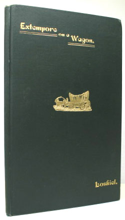 Extempore on a Wagon. A Metrical Narrative of a Journey from Bethlehem, Pa., to the Indian town of Goshen, Ohio, in the Autumn of 1803. Translated with Notes by J. Max Hark. George Henry LOSKIEL.