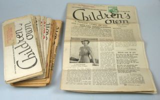 Children's Own. No's 1-3, 5, 7, 11-18, 21, 23-26, 28, 31. March 9th 1946 - July 12th 1947. NEWSPAPER