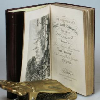 The Gentleman's Pocket Daily Companion, Containing an Almanack Annexed to Ruled Pages for Appointments, Cash Account, and a Variety of Useful Information for 1862.