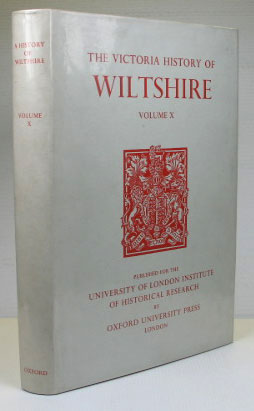 The Victoria History of Wiltshire. Volume X. Elizabeth CRITTALL
