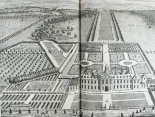 Britannia Illustrata. Or Views of several of the Queen's Palaces. As also of the Principal Seats...