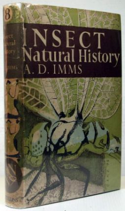 Insect Natural History. A. D. IMMS.