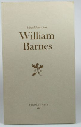 Poems from... Selected and Edited by Walter Partridge with a preface by Mark Franklin. William...