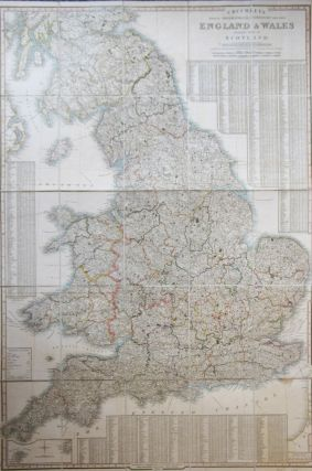 Cruchley's Improved Geographical Companion Throughout England & Wales Including Part of Scotland. G. F. CRUCHLEY.