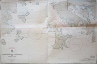 South Western Approaches to Hong Kong. Surveyed by Comdr. M.J. Baker R.N. H.M. Surveying Ship...