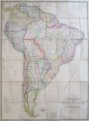 Colombia Prima or South America. Drawn from the Large Map in Eight Sheets by... Delarochette. James WYLD, Louis Stanislas D'Arcy after DELAROCHETTE.