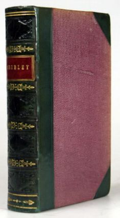 Shirley. A Tale by Currer Bell. A New Edition. Charlotte BRONT&Euml