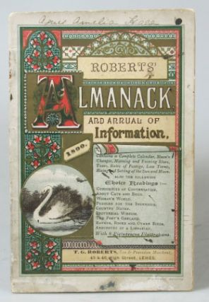Roberts' Almanack and Annual of Information. 1890. ALMANACK
