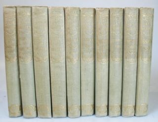 The Novels of... Sense and Sensibility. Pride and Prejudice. Mansfield Park. Emma. Northanger Abbey. Persuasion. Edited by R. Brimley Johnson with Illustrations by William C. Cooke. Jane AUSTEN.