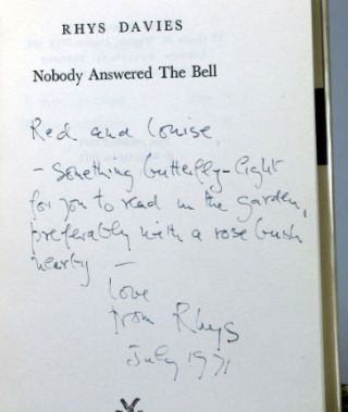 Nobody Answered the Bell. Rhys DAVIES