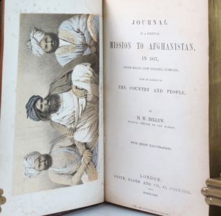 Journal of a Political Mission to Afghanistan, in 1857, Under Major (Now Colonel) Lumsden; with...