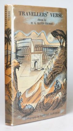 Travellers' Verse. Chosen by... with Original Lithographs by Edward Bawden. BAWDEN, M. G. LLOYD...