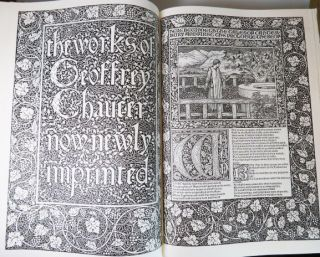 The Works of... [with] A Companion Volume to the Kelmscott Chaucer.