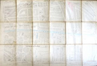 Bermondsey]. London Sheet XI.18. ORDNANCE SURVEY