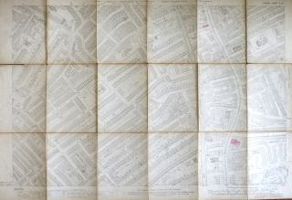 Walworth]. London Sheet XI.15. ORDNANCE SURVEY