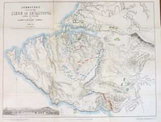 Johnstons' Atlas of the War 1855. [Comprising]: Johnston's New Map of the Seat of War in the...