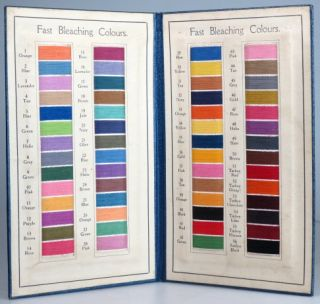 Fast Bleaching Colours 1927. BYROM DYEING CO