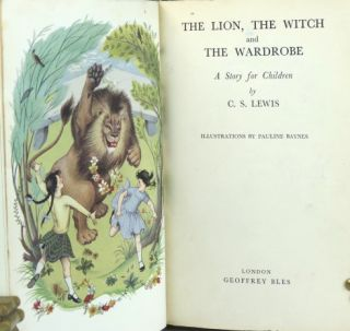 The Lion, the Witch and the Wardrobe. Illustrations by Pauline Baynes.
