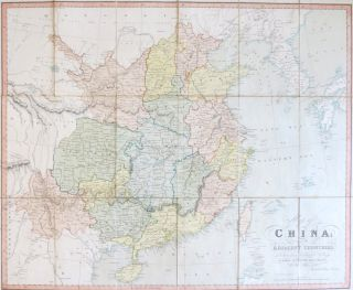 Map of China: and the Adjacent Countries, Drawn from the Latest Surveys. J. WALKER, C.